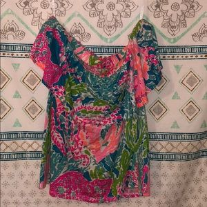 HOLY GRAIL LILLY PULITZER LETS CHA CHA SHIRT